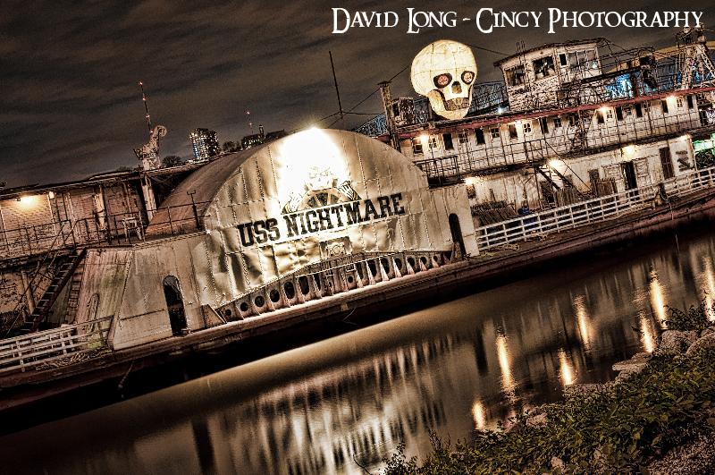 uss nightmare haunted river boat photos