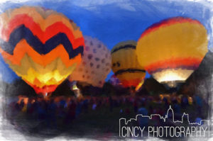 coney island balloon glow